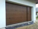 Brama garażowa z kasetonów typu M, drzwi przygarażowe