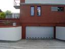 Brama garażowa SPU 40, przetłoczenia, kratki wentylacyjne