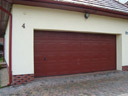 Brama garażowa EPU 40, kaseton S, kolor wg. palety RAL