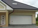 Brama garażowa LPU 40, przetłoczenia M, drzwi wejściowe zewnętrzne