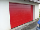 Brama garażowa LPU 40, przetłoczenia M, ral 3003