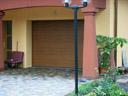 Brama garażowa LPU 40, przetłoczenia M, okleina