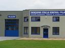 Brama przemysłowa APU 40 z ramami malowanymi wg. palety RAL